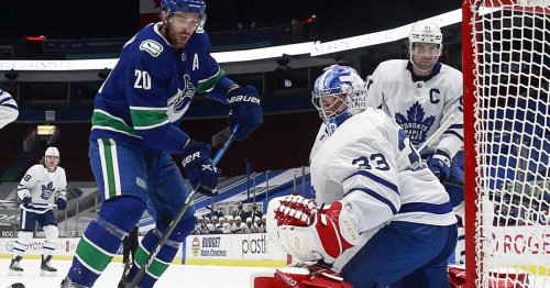 Need a save, Dave: Leafs lose to Canucks