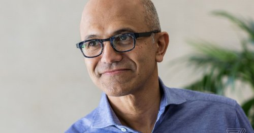 Microsoft CEO Satya Nadella now doubles as the company's chairman
