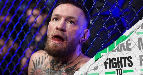 UFC 264: Poirier vs. McGregor 3 - Fights to make