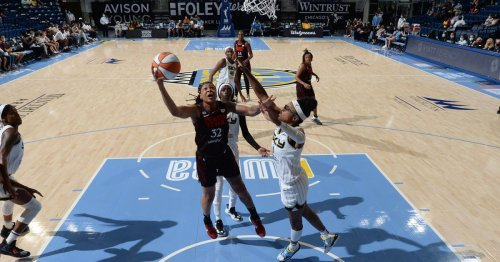 Sky head into single-elimination playoff game with a win over last-place Fever