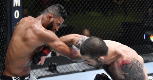 UFC Vegas 29 video: Matt Brown faceplants Dhiego Lima with brutal one-punch knockout