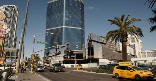 Fontainebleau could open as a JW Marriott in 2023 on the Las Vegas Strip.