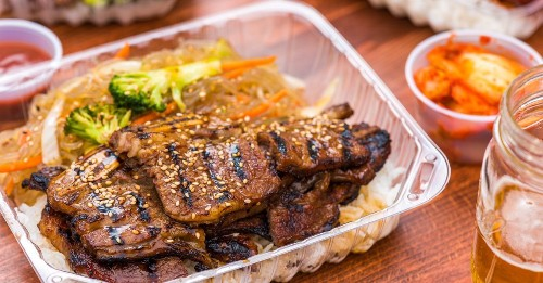 This BART-Adjacent Daly City Bodega Serves Affordable Korean Barbecue for the People