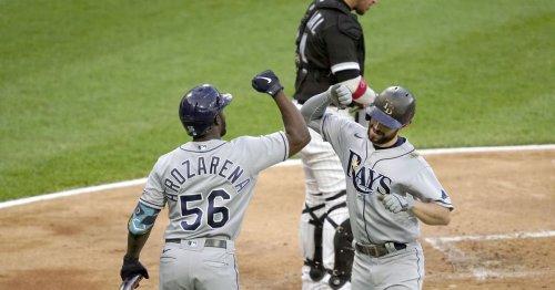 Rays snap White Sox win streak at 4