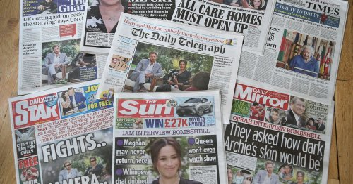 The British media narrative of Prince Philip's death is about Meghan Markle