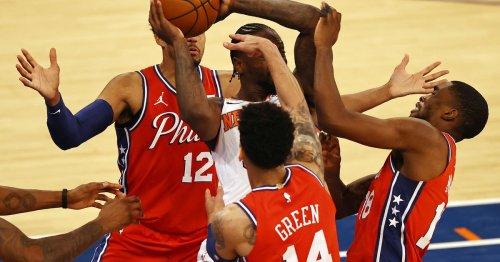 Will the Knicks break their losing streak against the 76ers in 2021-22?