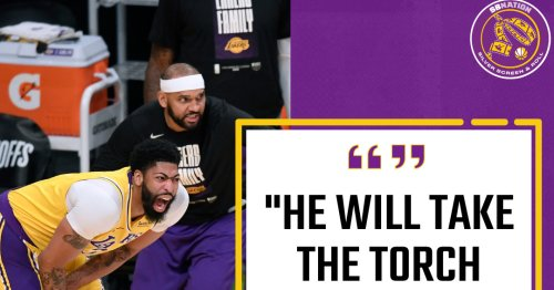 Jared Dudley says Anthony Davis will 'take the torch next year' for the Lakers