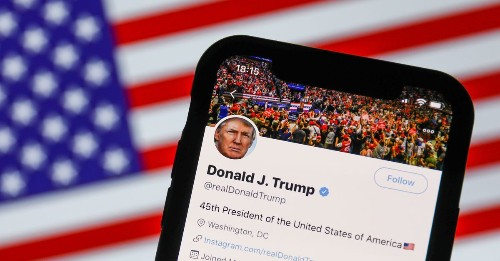 Trump's Twitter and Facebook ban is working. One stat shows it.