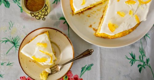 A Sunny Lemon-Yuja Cake Recipe That Will Brighten Your Day