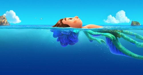 Luca is a Pixar fable about sea monsters, friendship, and pasta