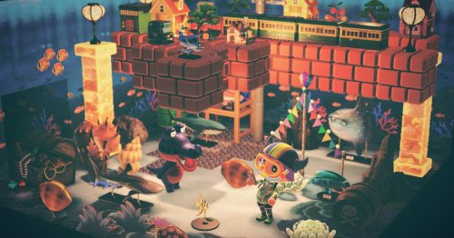 Animal Crossing's new Mario blocks open a world of possibility