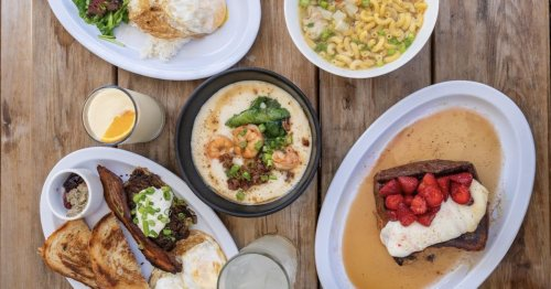 Psychic Now Offers a Weekend Brunch With Mapo Tofu Biscuits and Gravy