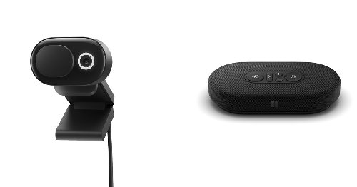 Microsoft announces new webcam and USB-C speaker for the work from home era