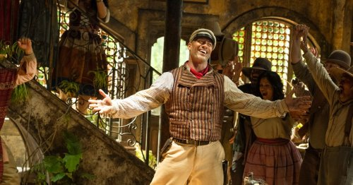 Jungle Cruise is actually a passion project for Dwayne Johnson