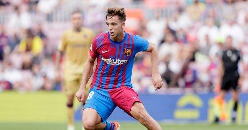 Nico Gonzalez 'not surprised' to see Ansu Fati score on his Barcelona return