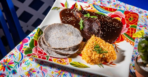 DC Corazon Serves Red Mole in a Festive, Fonda-Style Dining Room