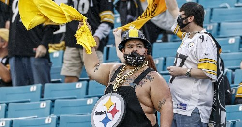 Steelers fans jumping for joy over the announcement of a draft pick is a real thing