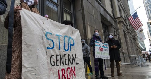 Lightfoot responds to General Iron hunger strikers