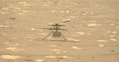 Watch NASA's mission control track the first flight on Mars