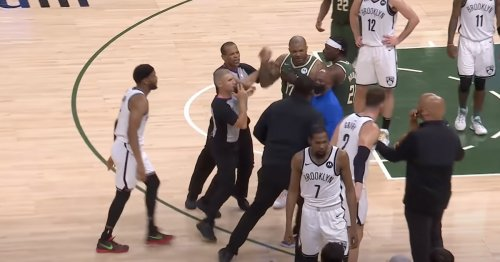 Kevin Durant's personal bodyguard breaks up skirmish with PJ Tucker