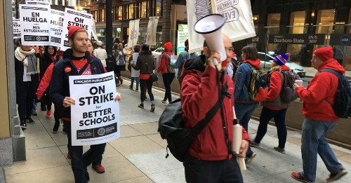 Chicago teachers will vote on a Monday walkout, setting stage for possible strike