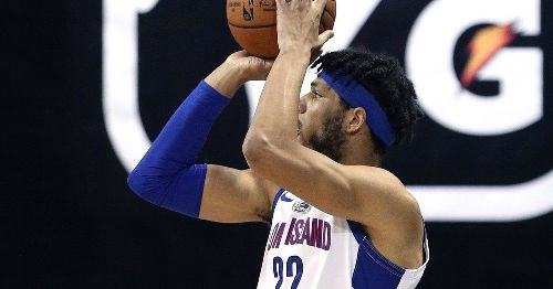 Playing from behind most of the game, Long Island Nets lose to Santa Cruz Warriors, 108-88