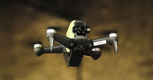 DJI's first first-person drone is a lot of fun