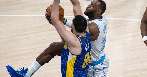 LeBron James helps Lakers hold off Pacers for 122-115 win