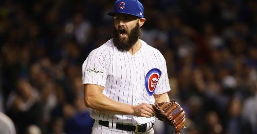 Where does the Cubs roster stand after addition of Jake Arrieta?