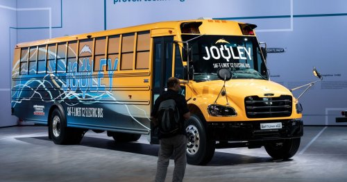 One small idea in Biden's infrastructure plan with big benefits: Electric school buses