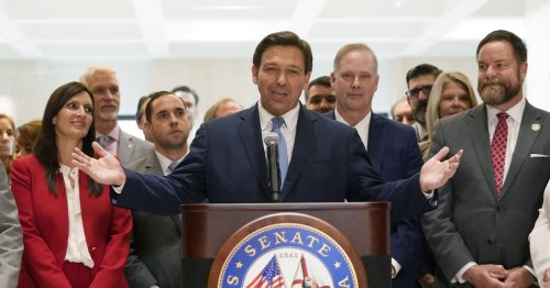 Florida gov signs GOP voting law critics call 'un-American'