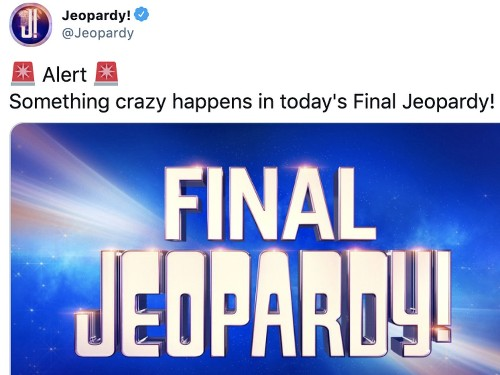 The last 'Jeopardy!' game had a wild ending. Here's what happened