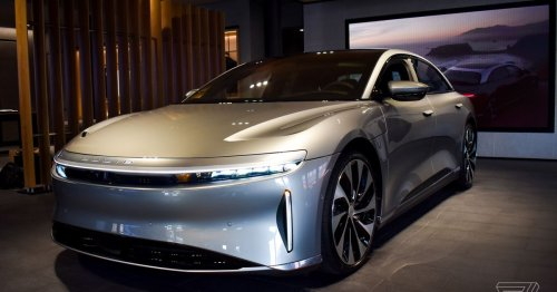 The Lucid Air is nearing the finish line