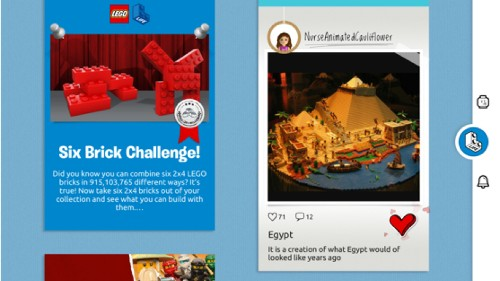 Lego Life is a social network for kids to share their Lego creations