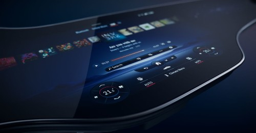 Mercedes-Benz unveils its absolutely massive 56-inch 'Hyperscreen' display