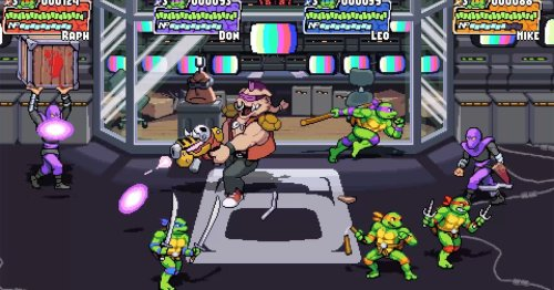 The new Teenage Mutant Ninja Turtles beat-'em-up is coming to Switch