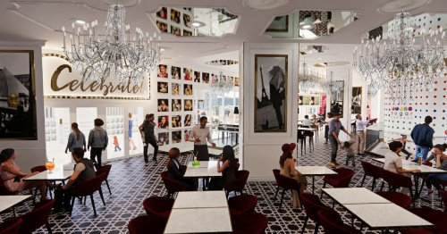 Sugar Factory Reveals Its Three-Story Candy Emporium, Restaurant Opening This Summer