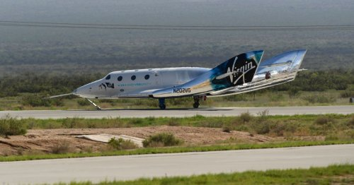 FAA investigating off-course descent of Virgin Galactic's flight with Richard Branson