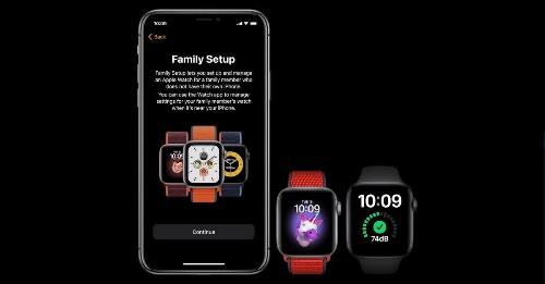 Family Setup will let you manage more than one Apple Watch from a single iPhone