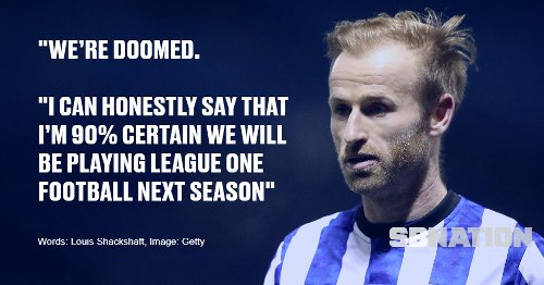 View From The Town End: Sheffield Wednesday 'Doomed' To Relegation