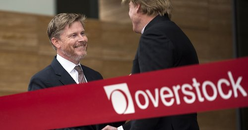 Here's why Overstock CEO says cryptocurrency 'is for real and is here to stay'