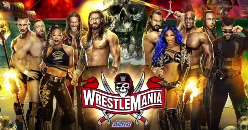 WWE WrestleMania 37 Day 1 start time, results, and discussion