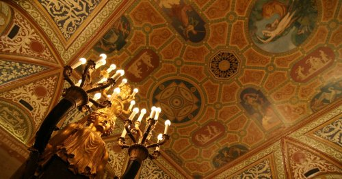 Palmer House lobby is getting restored to its former glory