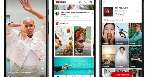 YouTube creators can now get $10,000 per month for making Shorts