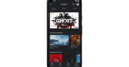 Google Play Movies & TV is now Google TV but it's not the same Google TV that runs on Android TV on the new Chromecast, it's an app
