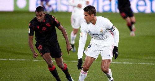 Manchester United target Raphael Varane