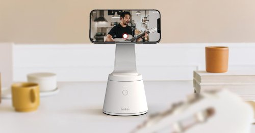 Belkin's iPhone 12 stand will follow you with face tracking (but not during video calls)