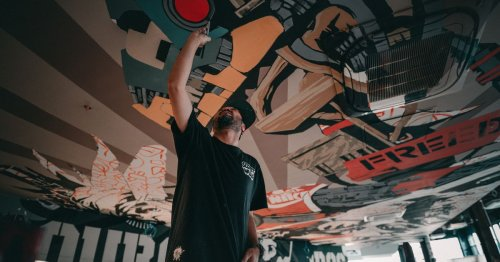 Whino, a Combination Gallery and Restaurant, Brings Street Art to Ballston