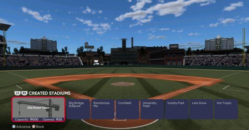Give any team a new stadium in MLB The Show 21's Road to the Show or Franchise