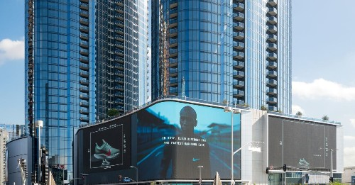 Circa towers with massive LED screen open in Downtown LA